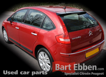 Citroen C4 Berline used car parts from modern cardismantler