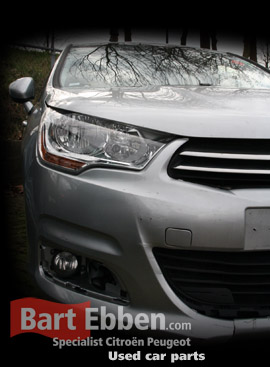 Citroen C4 car parts used and new in our online stock