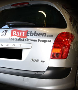Used car parts Peugeot 308 SW request
