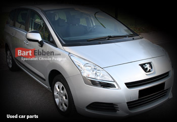 Large stock Peugeot 5008 used car parts with a warranty
