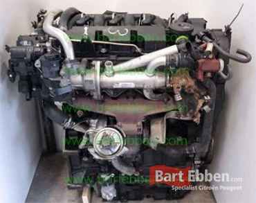 Citroen dw10bted4 engine used with a warranty from specialist breaker