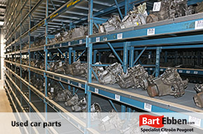 French car breaker yard specialised in Citroen Peugeot car parts used and new with warranty
