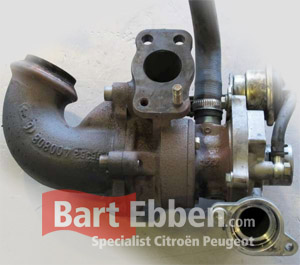 Peugeot 206 turbocharger used with warranty in our online stock