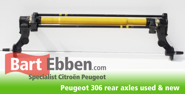 Replacement Peugeot 306 rear axle new