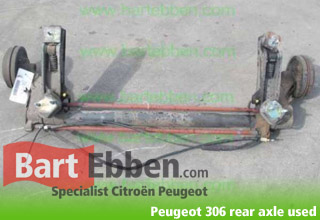 Peugeot 306 rear axle used hatchback-sedan