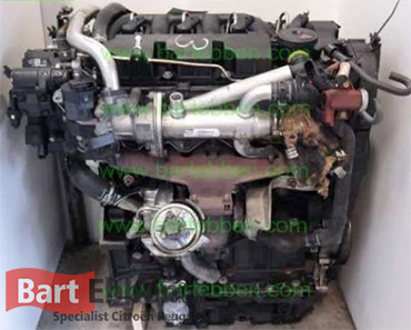 Peugeot DW10bted4 Hdi 2.0 16V diesel used engine with warranty in stock - engine repair